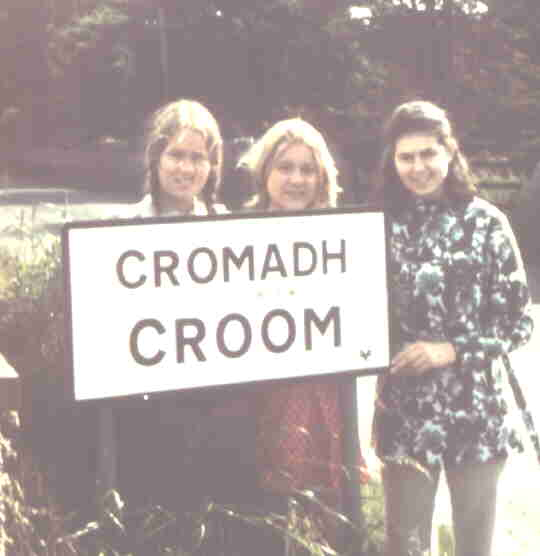 Croom Sisters & Irish Friend